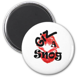 snogger 2 inch round magnet
