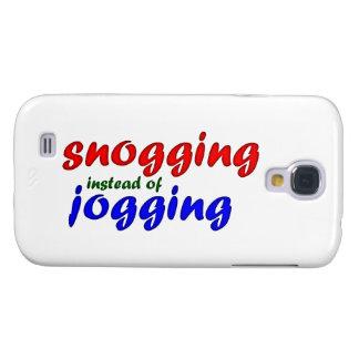 snogging instead jogging samsung galaxy s4 cases