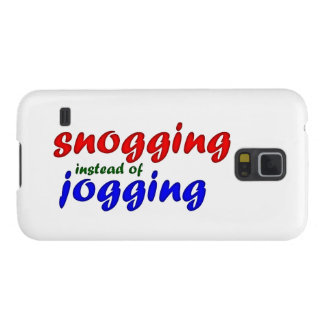 snogging instead jogging galaxy s5 covers