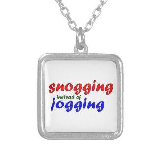 snogging instead jogging custom jewelry