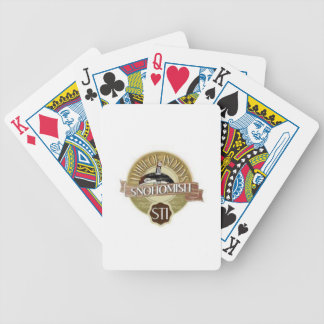 Snohomish Tribe playing cards