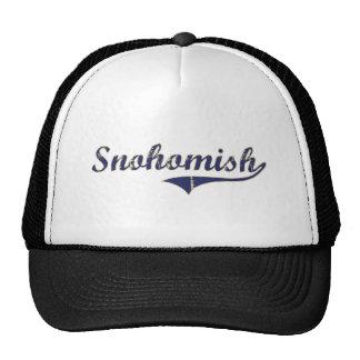 Snohomish Washington Classic Design Mesh Hats