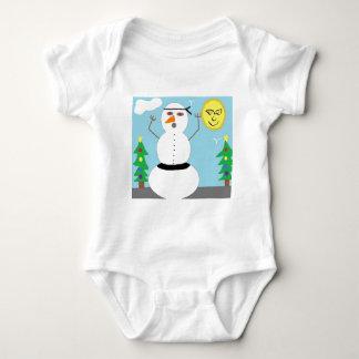 snoman baby bodysuit