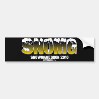 SNOMG BUMPER STICKER