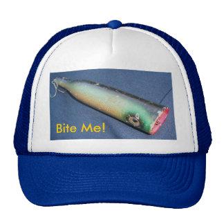 Snook Bait Co Bite Me! Vintage Lure Hat
