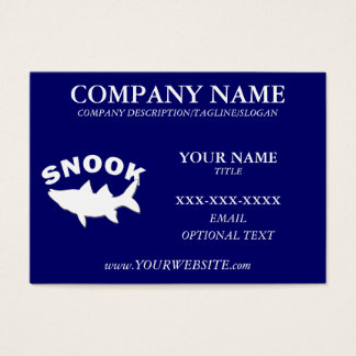 SNOOK FISHING ENTHUSIAST - Business Card Template