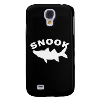 Snook Silhouette - Snook Fishing Galaxy S4 Cover