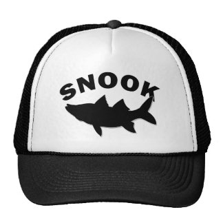 Snook Silhouette - Snook Fishing Trucker Hat