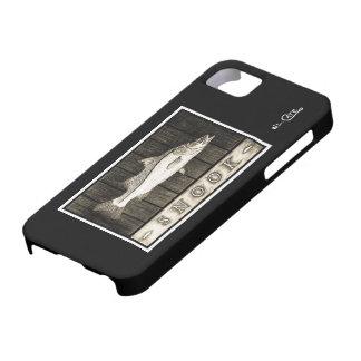 Snook Vintage Black & White iPhone 5 Case