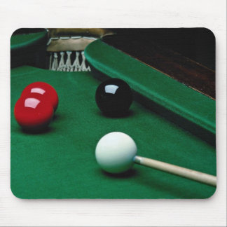 Snooker equipment mouse pad