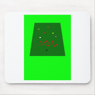 Snooker is the thing mouse pad