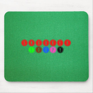 Snooker Loopy Mouse Pad