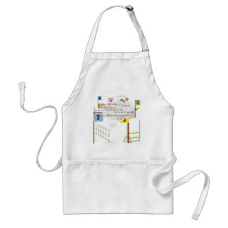 Snooker Math Adult Apron