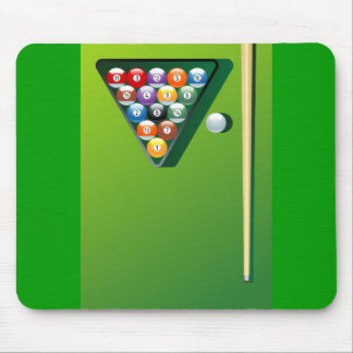 snooker mouse pad