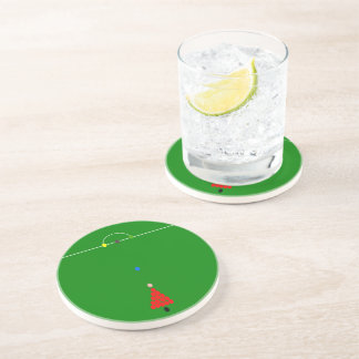 Snooker Table Sandstone Coaster