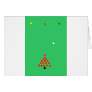 snooker the game card