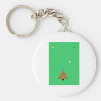 snooker the game keychain