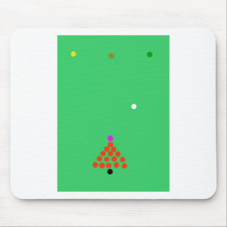 snooker the game mouse pad