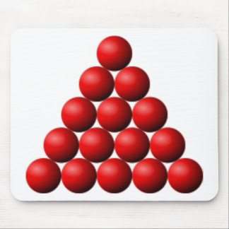 Snooker Triangle Mouse Pad