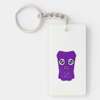 Snoomies Rectangle (double-sided) Keychain