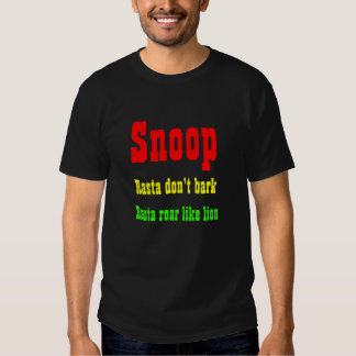 Snoop Jamaica lion t-shirts