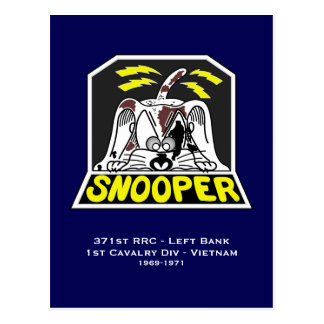 Snooper - 371o RRC libra Tarjeta Postal