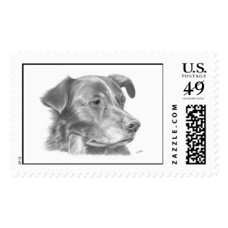 Snoopy Postage Stamp