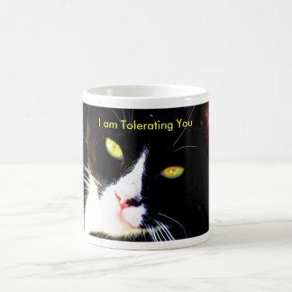 Snooty Cat Mug IV