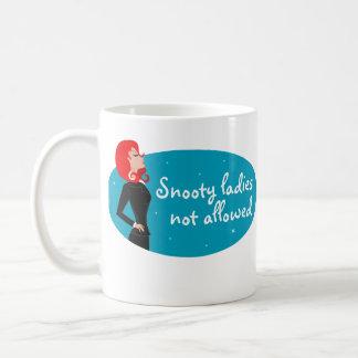 Snooty Lady Coffee Mug