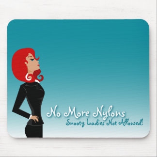 Snooty Lady Mouse Pad