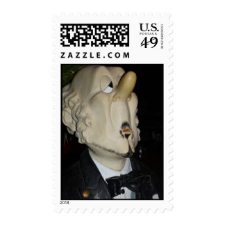 Snooty Nosed Butler Postage