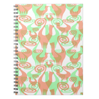 SNOOTY TRANSPARENT CATS NOTEBOOK