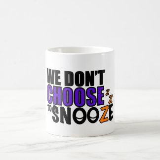 Snooze Coffee Mug