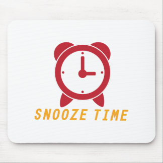 Snooze Time Mouse Pad