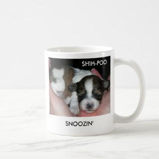 SNOOZIN', SHIH-POO COFFEE MUG