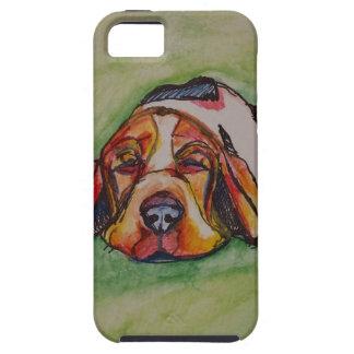 Snoozing Bassett Hound iPhone SE/5/5s Case