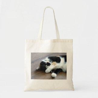 Snoozing Kitty Tote Bag