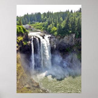 Snoqualmie Falls 08 Print