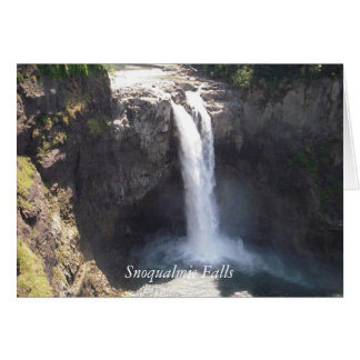 Snoqualmie Falls Card