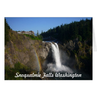 Snoqualmie Falls Card