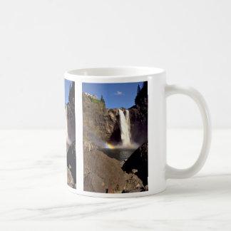 Snoqualmie Falls from below, Washington Coffee Mug