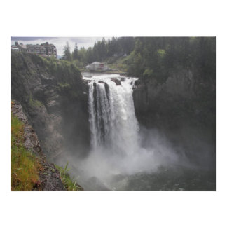Snoqualmie Falls Photo Poster
