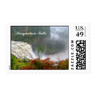 Snoqualmie Falls Postage Stamps