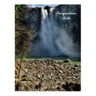 Snoqualmie Falls Post Card