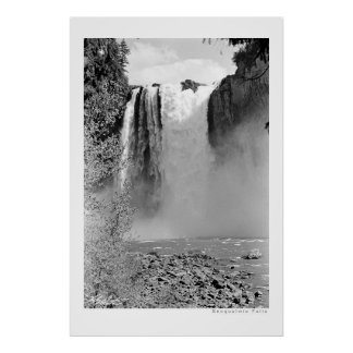 Snoqualmie Falls Poster