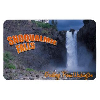Snoqualmie Falls Rectangular Magnets