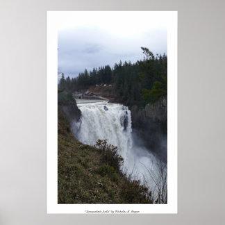 """Snoqualmie Falls"" Professional Photo Print"