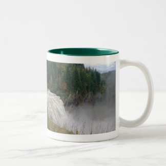 Snoqualmie Falls Two-Tone Coffee Mug
