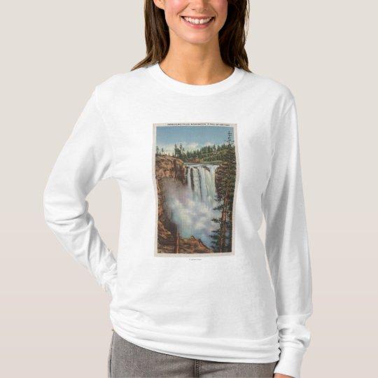 Snoqualmie Falls, WA - View of Falls at Top
