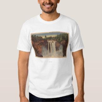 Snoqualmie Falls, WA - View of Falls & Lodge Tee Shirt